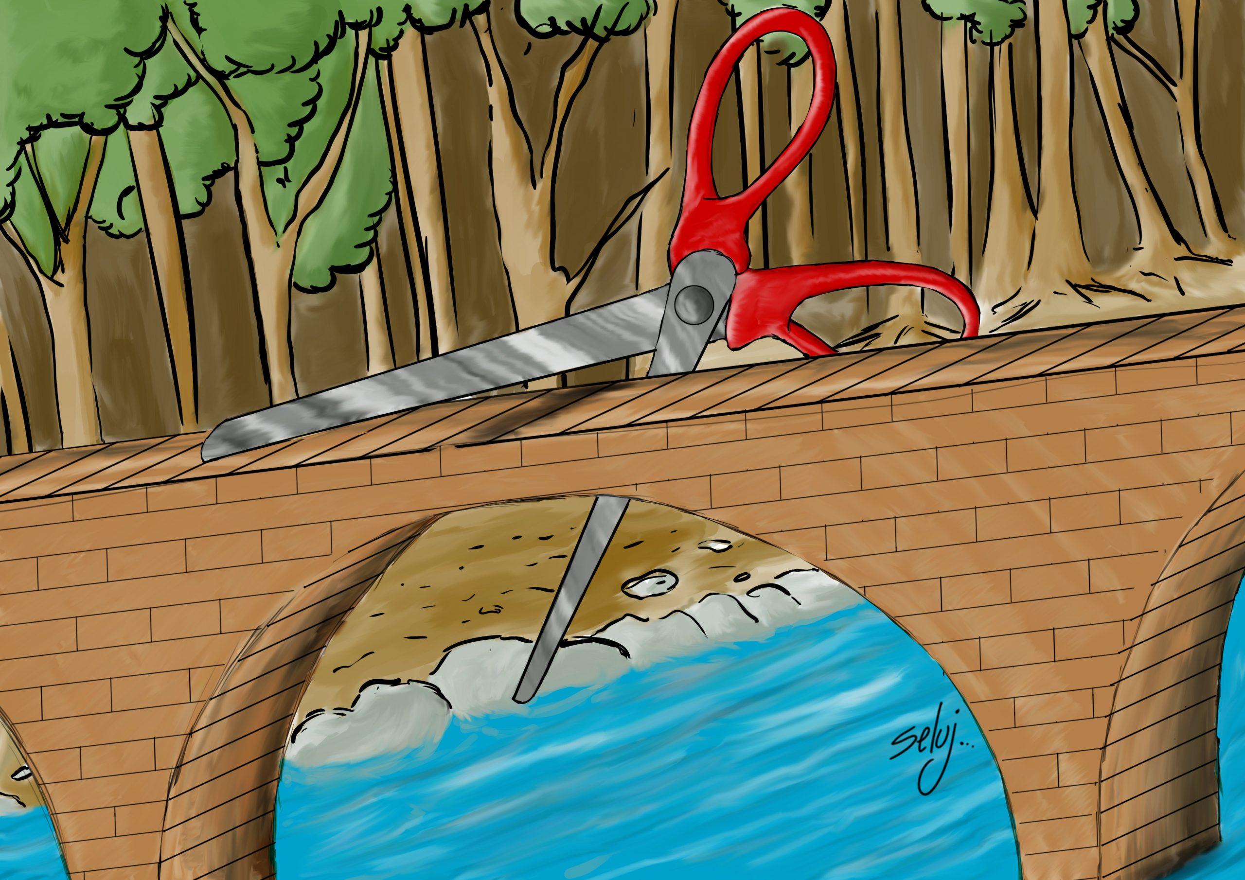 Couper les ponts