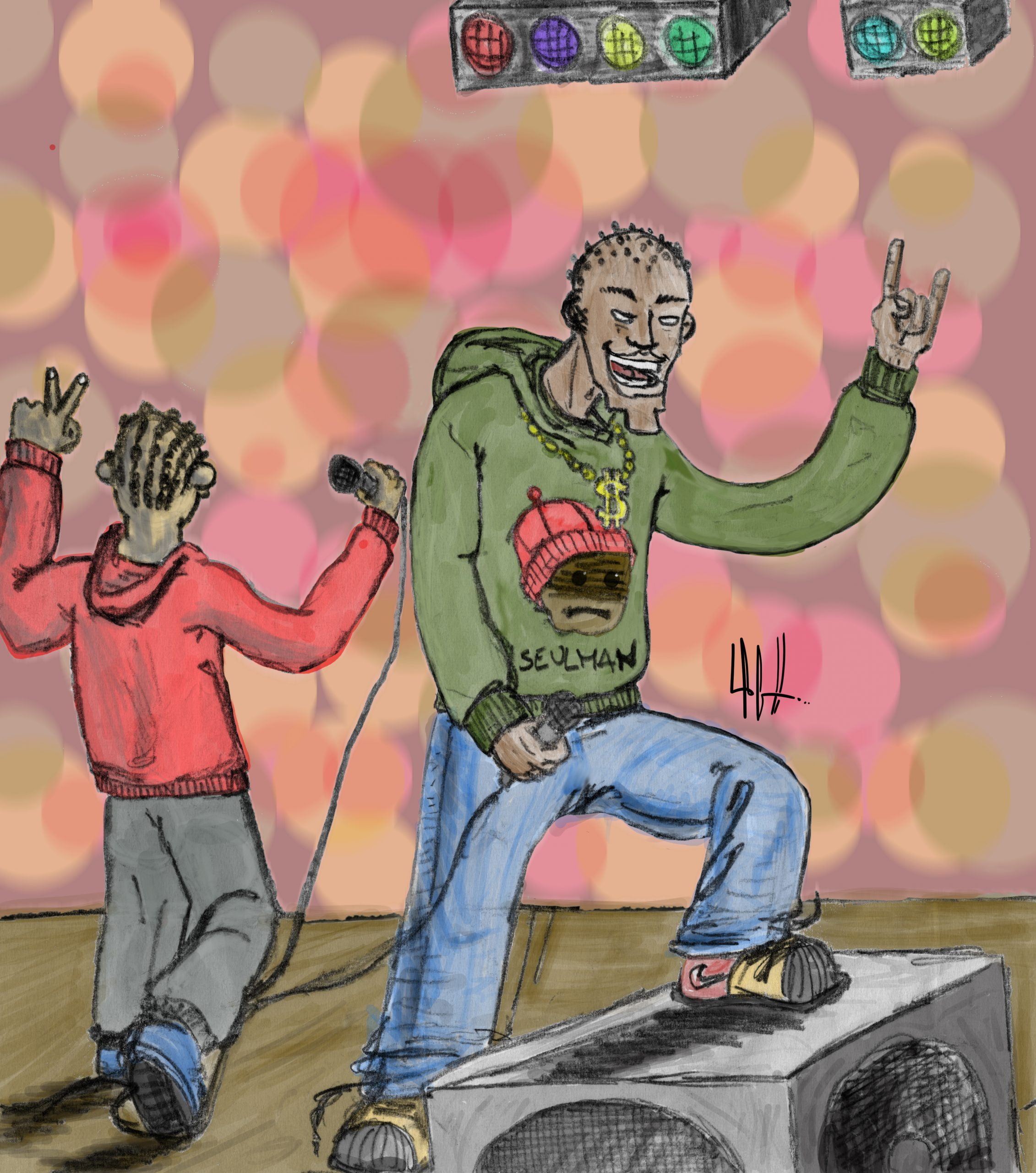 Concert de rap