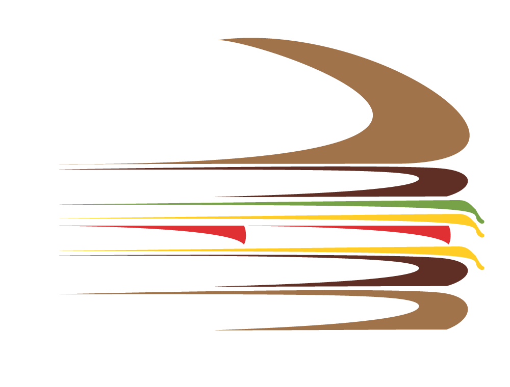 Logo Cool Burger Blanc